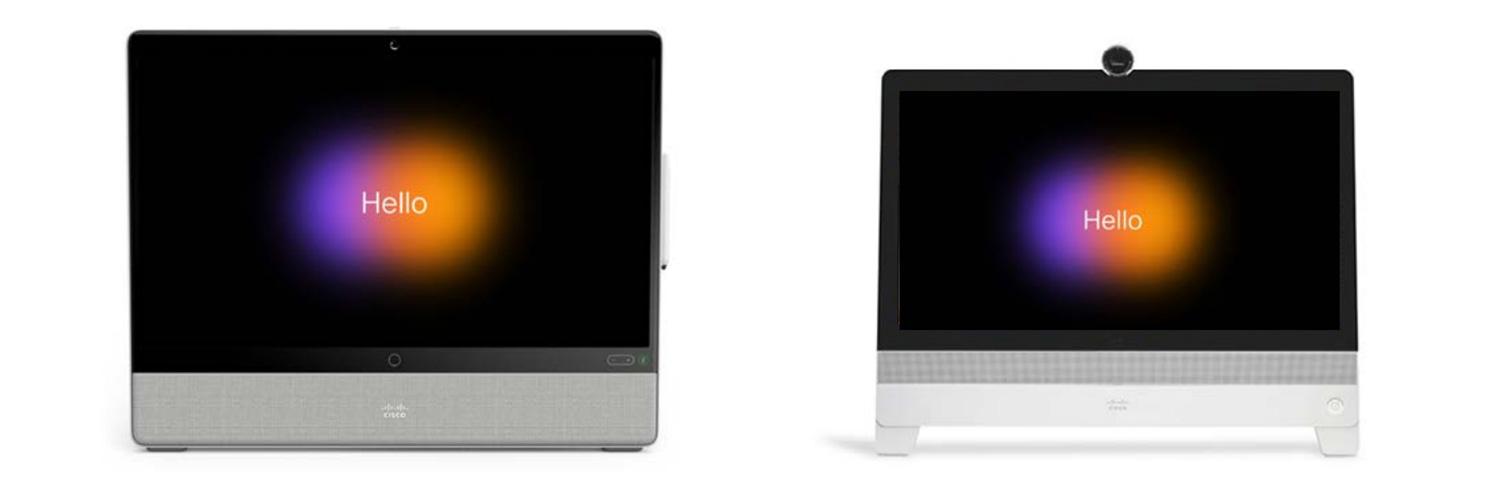 Cisco Webex Desk Series