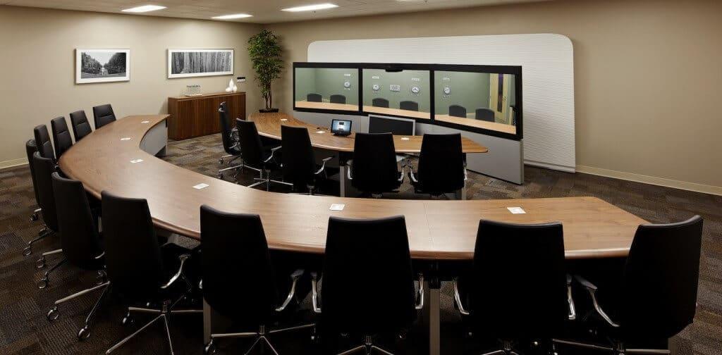 Vtc Telepresence Room Design 171 Vtc Telepresence