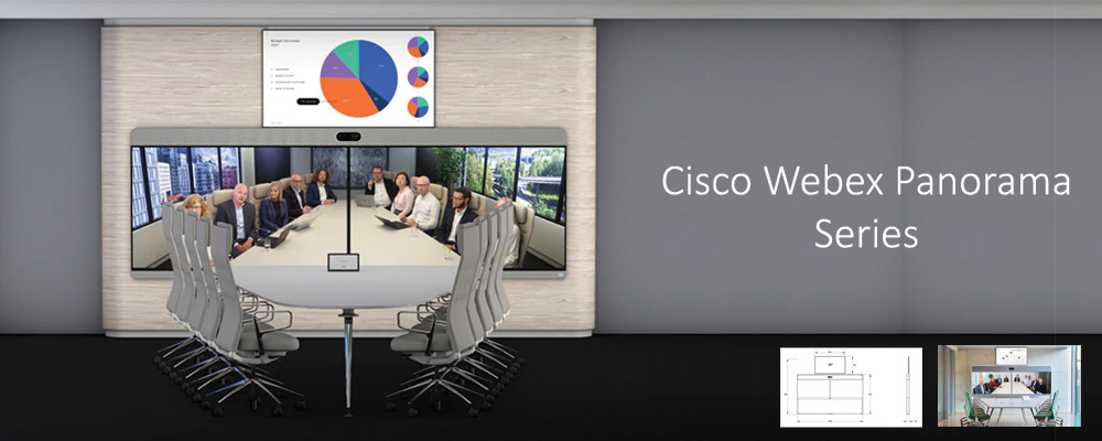 Cisco Webex Room Panorama series